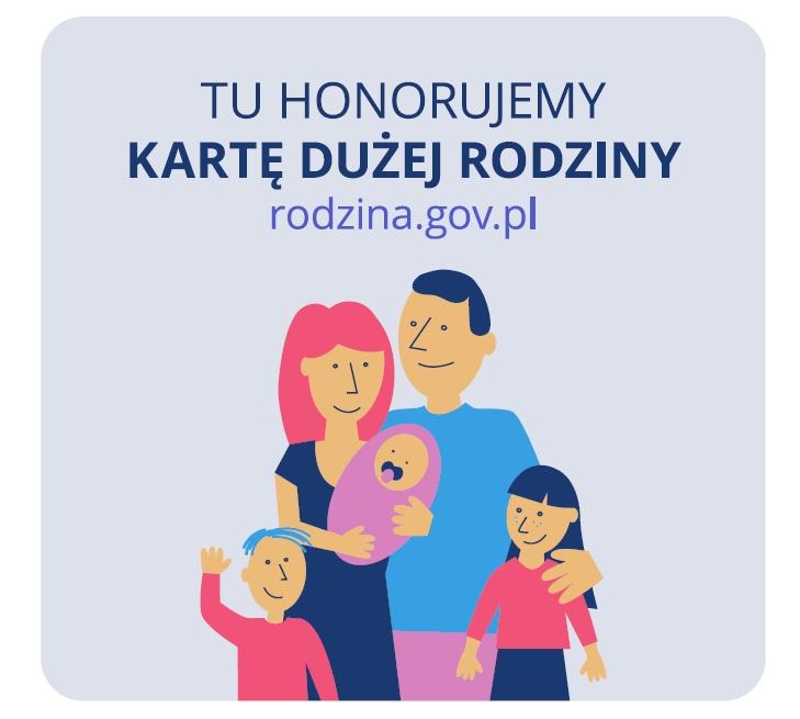 KDR_Tu honorujemy Karte Duzej Rodziny
